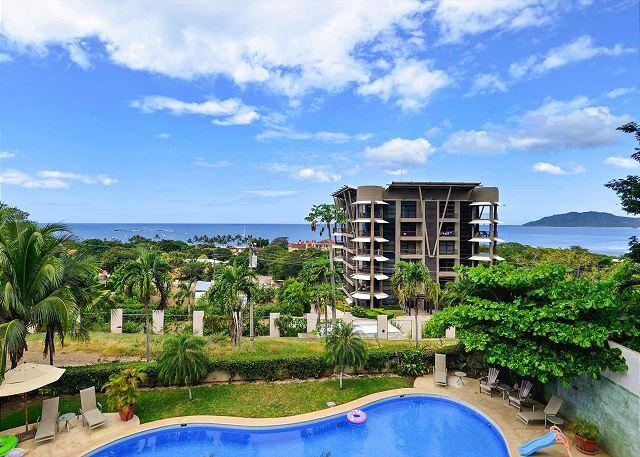 Monte Perla Condos Pool and View