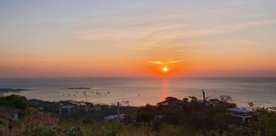 Tamarindo sunsets during Costa Rica in September