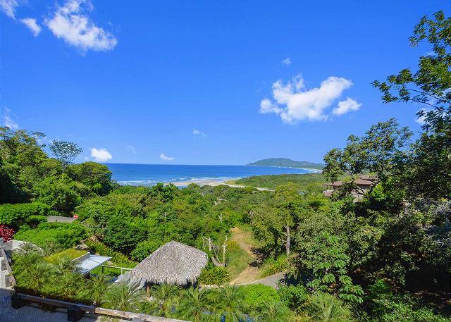 Las Mareas Villa 1 oceanview vacation rental in Tamarindo Costa Rica
