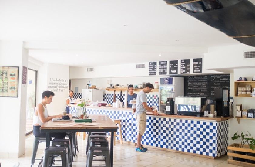 Nordico Coffee Shop in Tamarindo