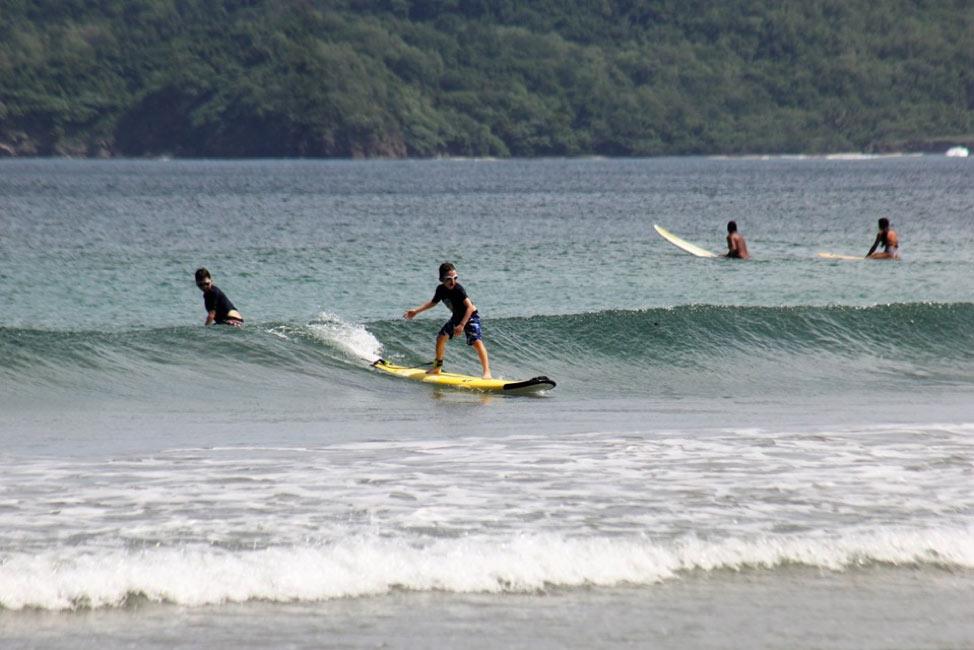 surfing in Tamarindo Costa Rica