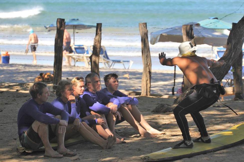 tamarindo surf lesson